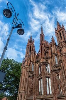 Katholische kirche im zentrum von vilnius