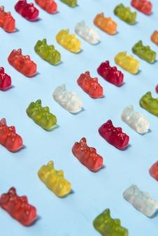 Kaubonbons in teddybärenform
