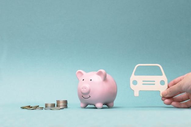Kauf eines autos auf kredit und für ihr geld