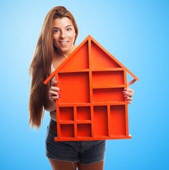 Kauf hand orange schutz weiblich