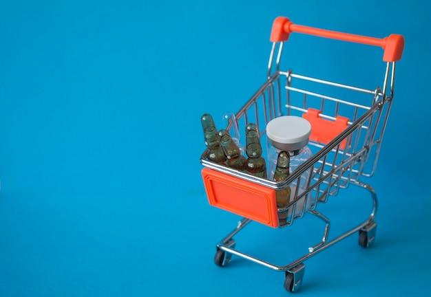 Kauf von impfstoffen. verkauf von medikamenten. online-apotheke.