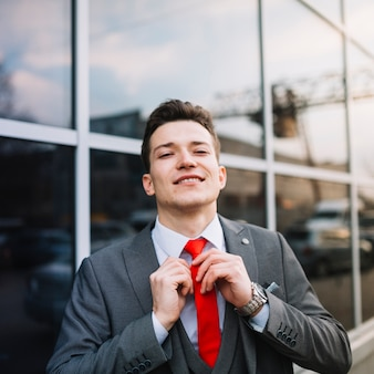 Kaufmann knoten krawatte