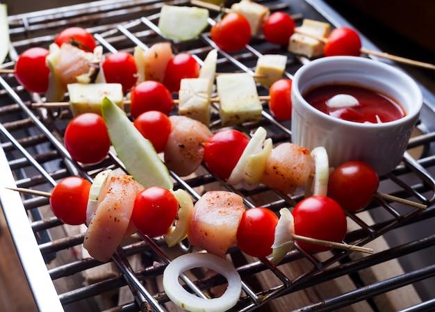 Kebab aus huhn machen