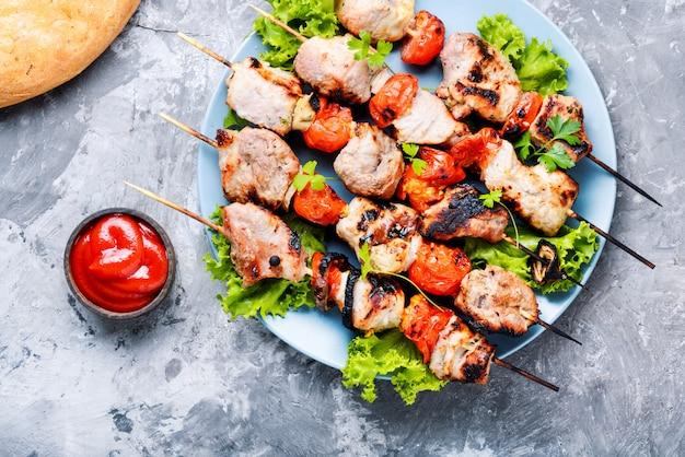Kebab - gegrilltes fleisch
