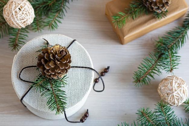 Keine verschwendete weihnachtsdekoration