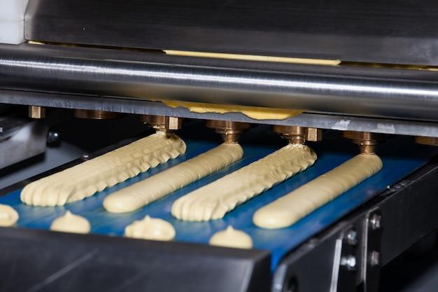 Keksabgabemaschine, ausrüstung in der bäckereiindustrie