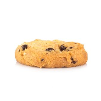 Kekse einzeln auf weiß isoliert