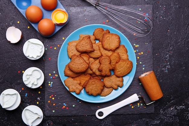 Kekse in form rakete