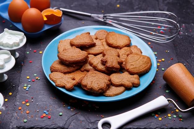 Kekse in form rocken