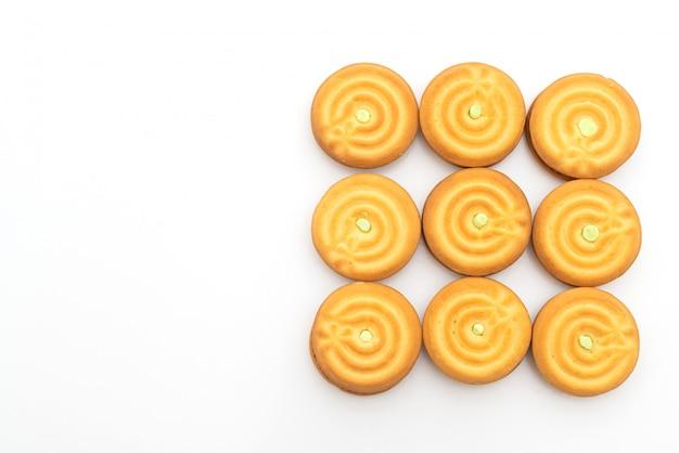 Kekse mit pandan-creme