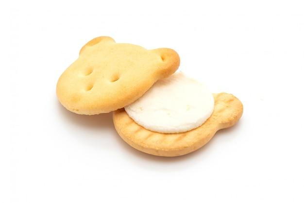 Kekse mit sahne tragen