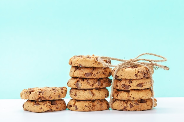 Kekse mit schokostücken