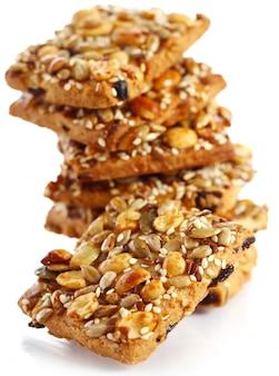 Kekse mit verschiedenen zutaten