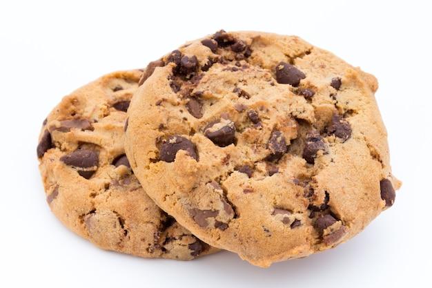 Kekse nüsse auf dem isolierten.
