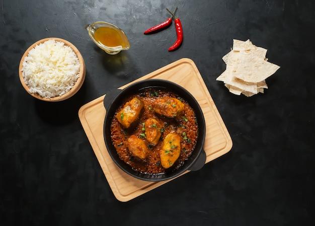 Kerala bengali fischcurry