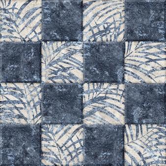 Keramikfliesen mit einem abstrakten muster.