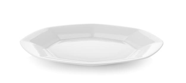 Keramikplatte auf weißer wand