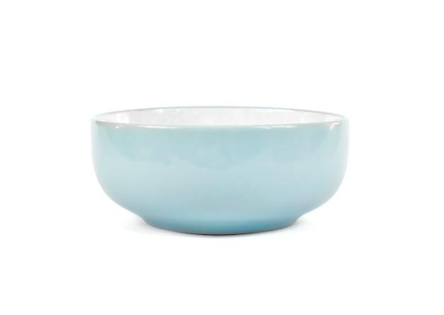 Keramikschale isoliert