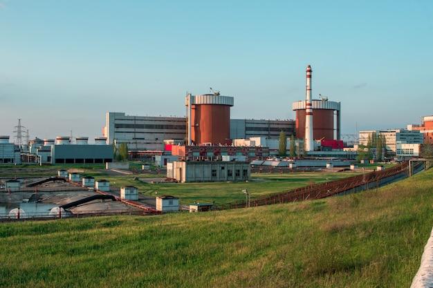 Kernkraftwerk in der stadt yuzhnoukrainsk