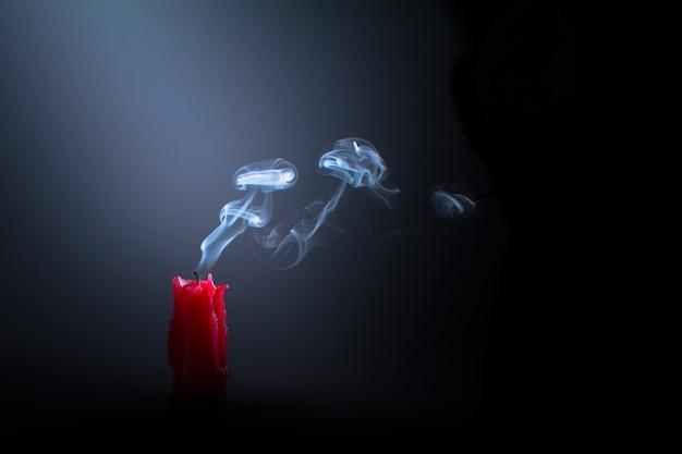 Kerze ausgeschaltet