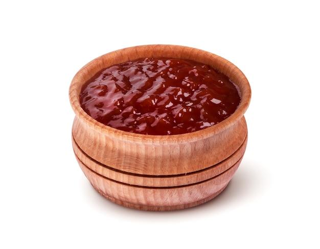 Ketchup, isoliert auf weiss