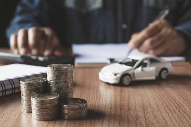 Kfz-versicherung und autoservice