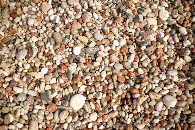Kieselsteinhintergrund bunter kieselhintergrund, einfachheit, tageslicht, steine.