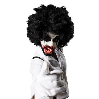 Killer-clown schreit