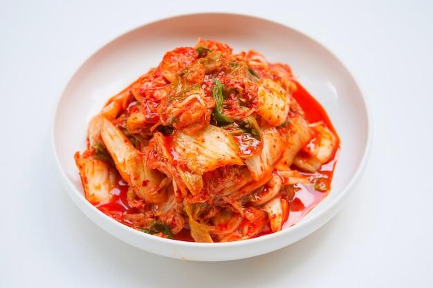 Kimchi, gesalzene eingelegte koreanische art