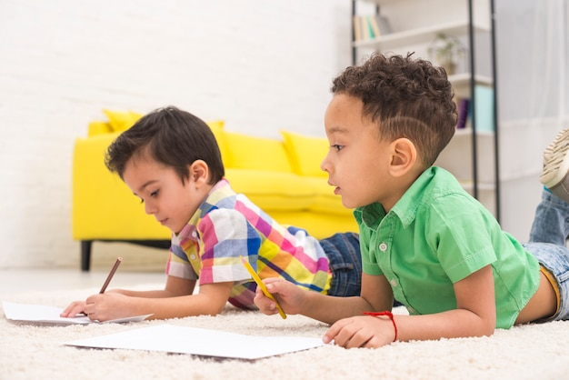 Kinder gruppenzeichnung