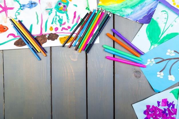 Kinderbilder, kinderzeichnungen,