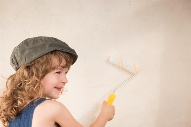 Kindermalerei wand. frühjahrssanierungskonzept