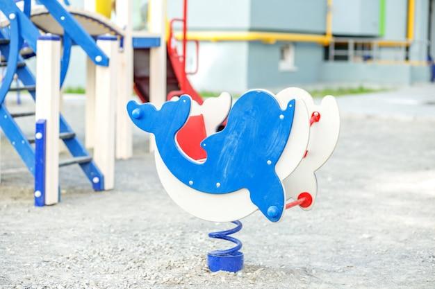 Kinderspielplatz im kindergarten