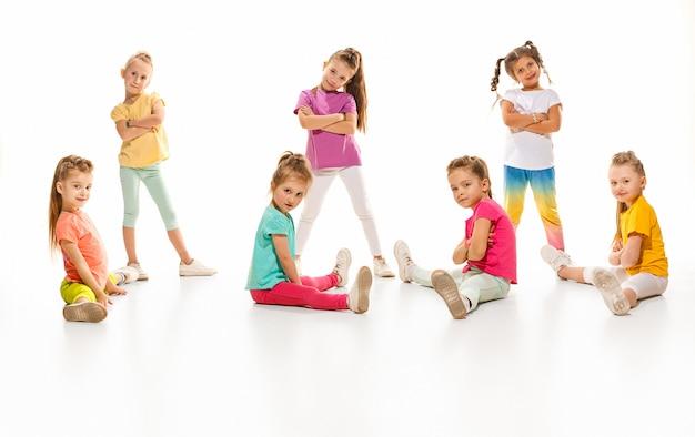 Kindertanzschule, ballett, hiphop, street, funky und moderne tänzer