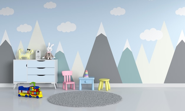 Kinderzimmer innenraum