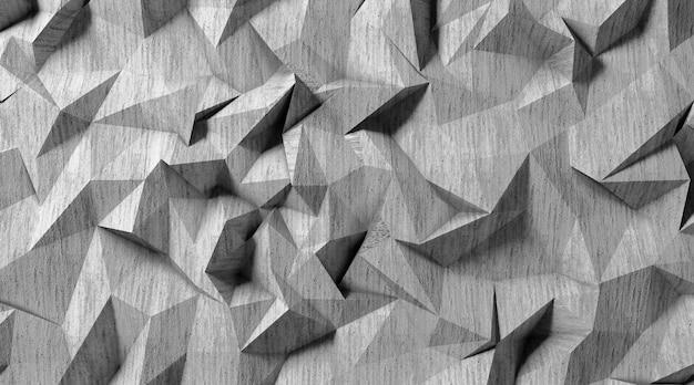 Kino 4d-darstellung der abstrakten hintergrundillustration mit steinmuster Premium Fotos