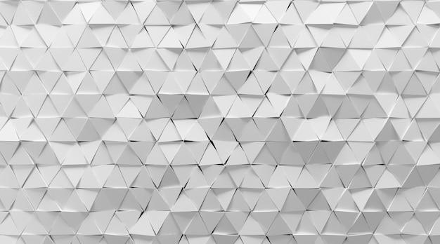 Kino 4d-wiedergabe der weißen abstrakten hintergrundillustration des fünfecks Premium Fotos