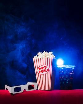 Kino mit popcornbox