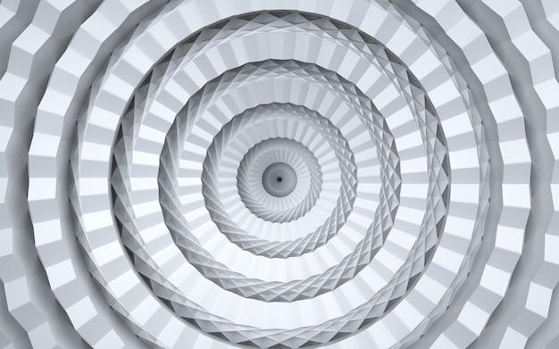 Kino-rendering eines geometrischen kreises für das anzeigemodell