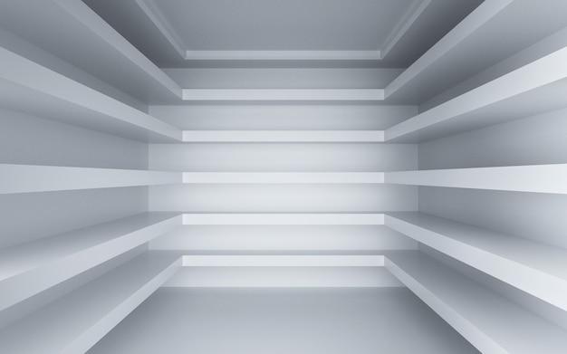 Kino-rendering eines geometrischen raums für ein anzeigemodell
