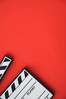 Kinokonzept mit filmklappe