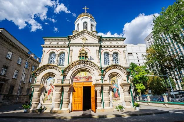 Kirche der verklärung in chisinau, moldawien