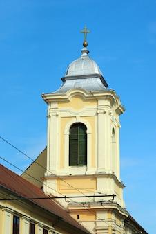 Kirche des misericordian mönchturms