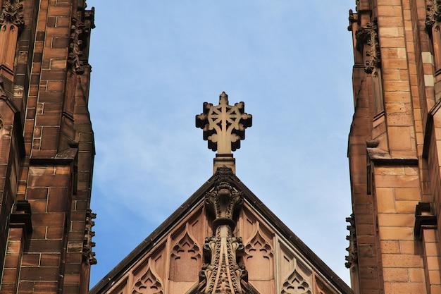 Kirche in der mitte von sydney city, australien