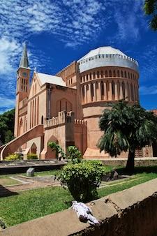 Kirche in der steinstadtstadt, sansibar, tansania