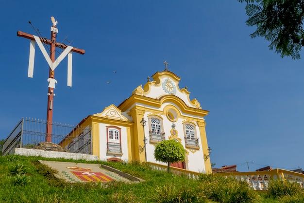 Kirche nossa senhora das mercs in sao joo del rey