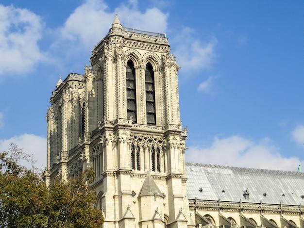 Kirche notre dame in paris, frankreich.