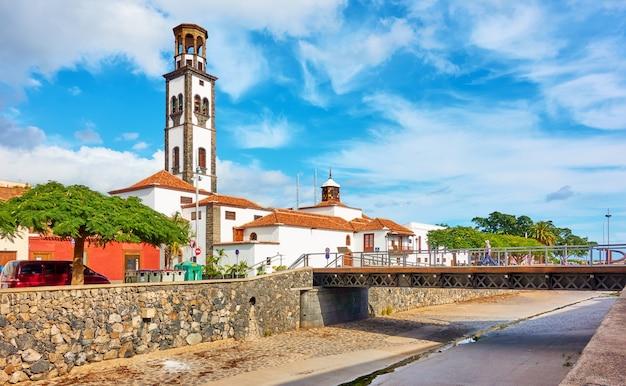 Kirche nuestra senora de la concepcion in santa cruz de tenerife, kanarische inseln, spanien