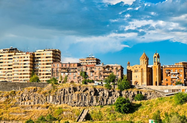 Kirche saint sarkis in eriwan, der hauptstadt armeniens