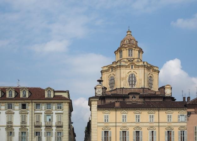 Kirche san lorenzo in turin
